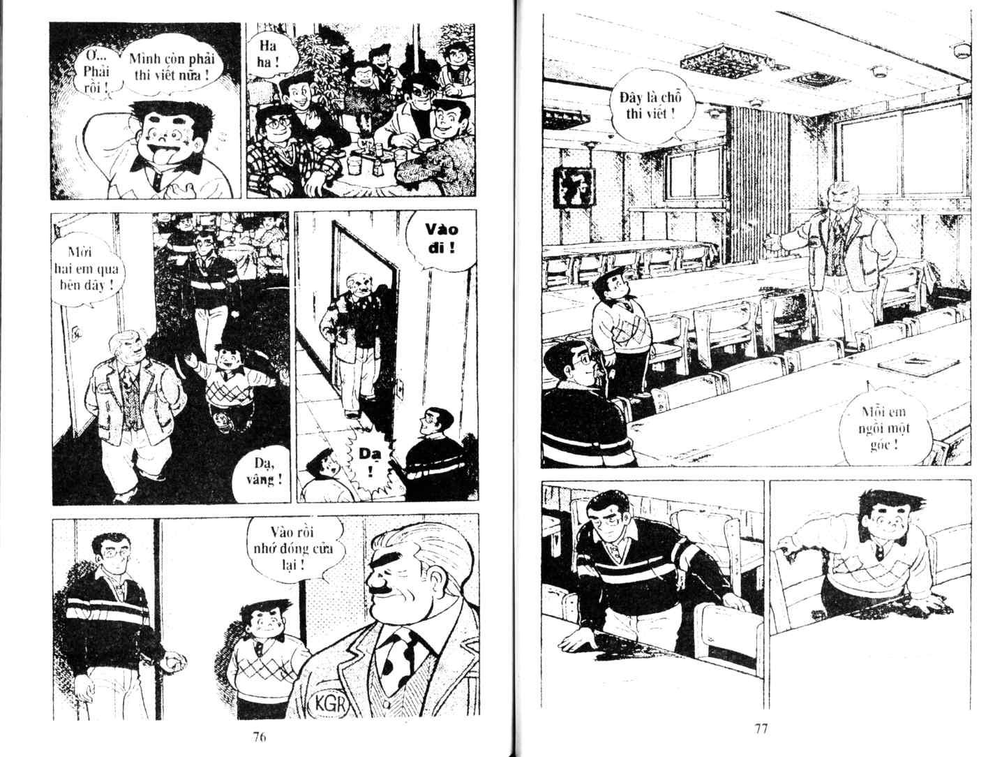 Ashita Tenki ni Naare chapter 14 trang 37