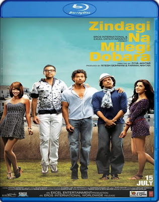 Zindagi Na Milegi Dobara 2011 Hindi 480p BrRip 450mb ESub, Zindagi na milegi dobara 2011 hindi brrip Bluray 480p 300mb free download or watch online at world4ufree.ws