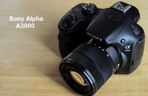 Review Spesifikasi dan Harga Kamera Sony Alpha A3000