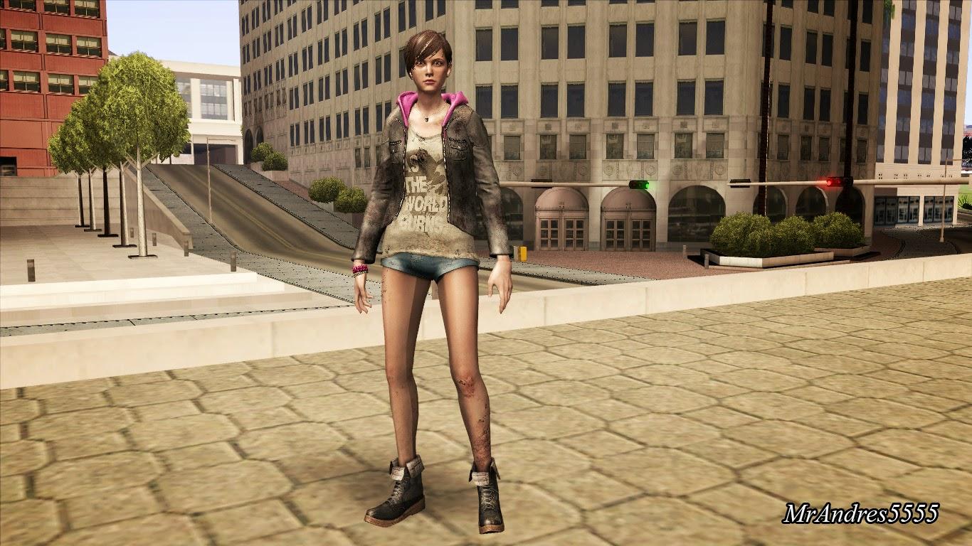 GTA-SA-Modificaciones: Cleo Mod - Resident Evil Characters