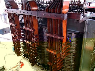 Core and Winding of a Transformer