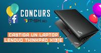 Castiga un laptop Lenovo Thinkpad x131e