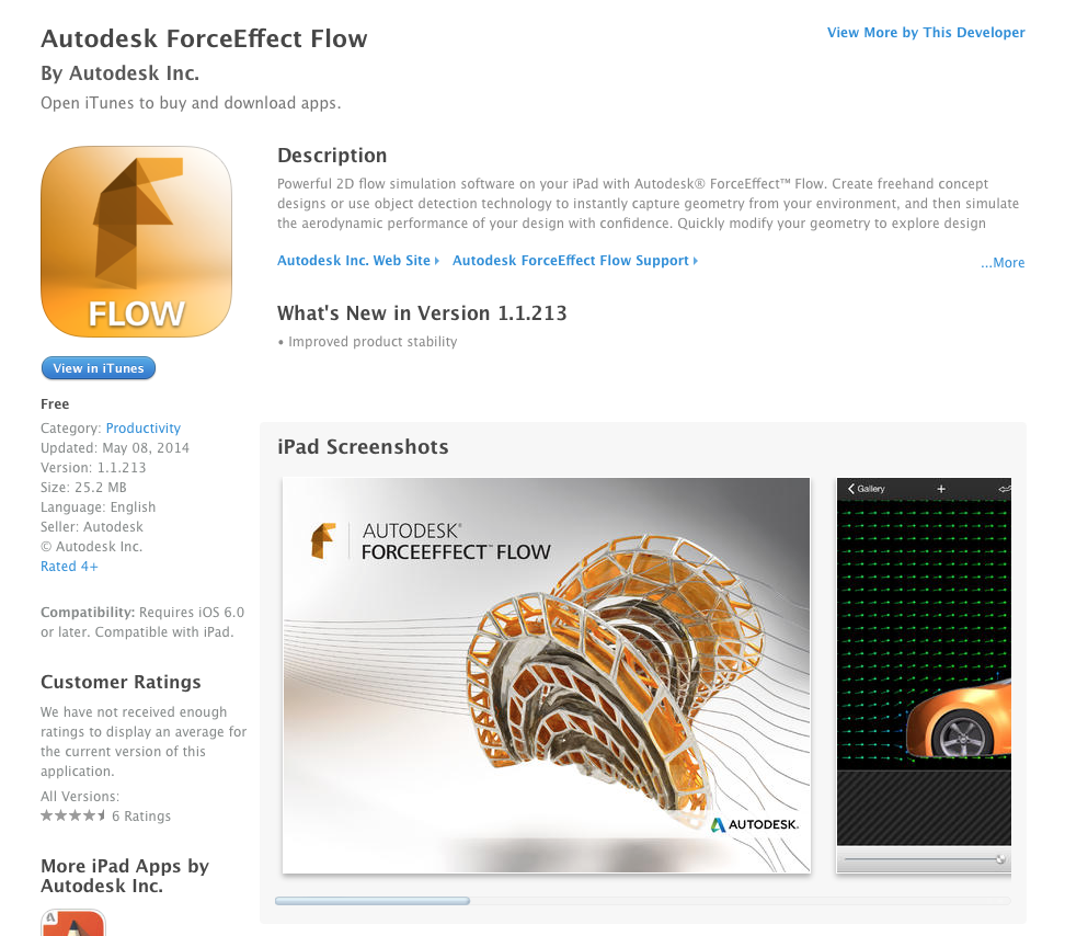 UCET Free iOS and Android App today - Autodesk ForceEffect