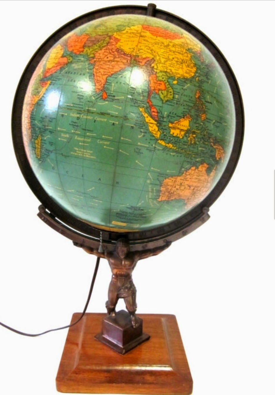 Collecting Antique And Vintage Globes Shedding Some Light