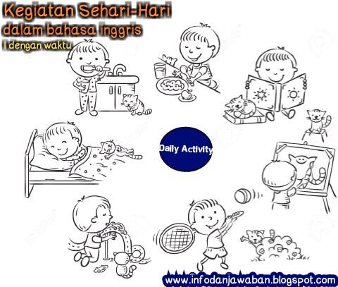Contoh Kegiatan Sehari Hari Dalam Bahasa Inggris Lengkap Dengan