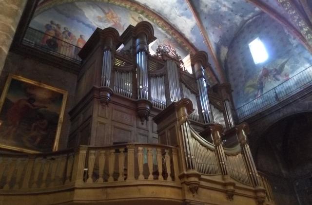Orgue de l'església de Prada