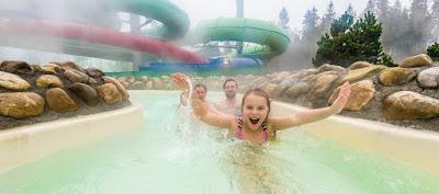 Wildwasserbahn Center Parcs Allgäu