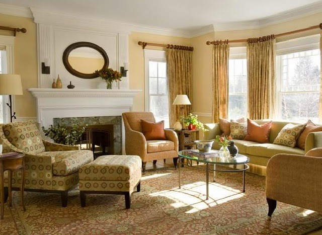 Classic Living Room Furniture Arrangements
