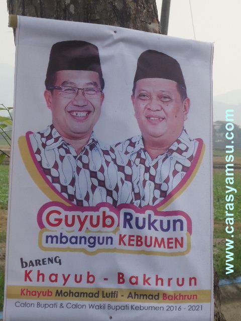 3 Pasangan Bakal Calon Bupati-Wakil Bupati pada Pilkada Kebumen 2015