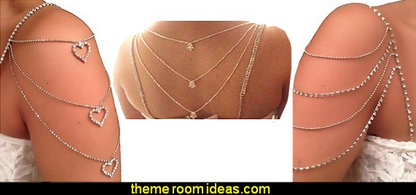 Strap N' Guard Women's Crystal Pin Straps for Bra, Tops, and Dresses