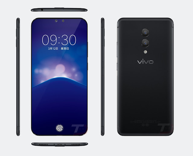 This is the Vivo Xplay 7 with True Bezel Less Display