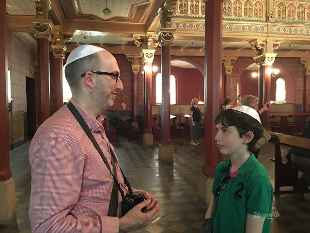 Cracovia fotos en la sinagoga