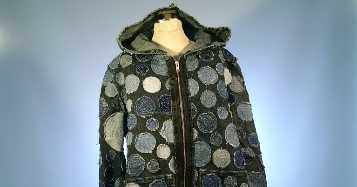 Thoughts From a Seamstress: Recycled Denim Jacket with ...