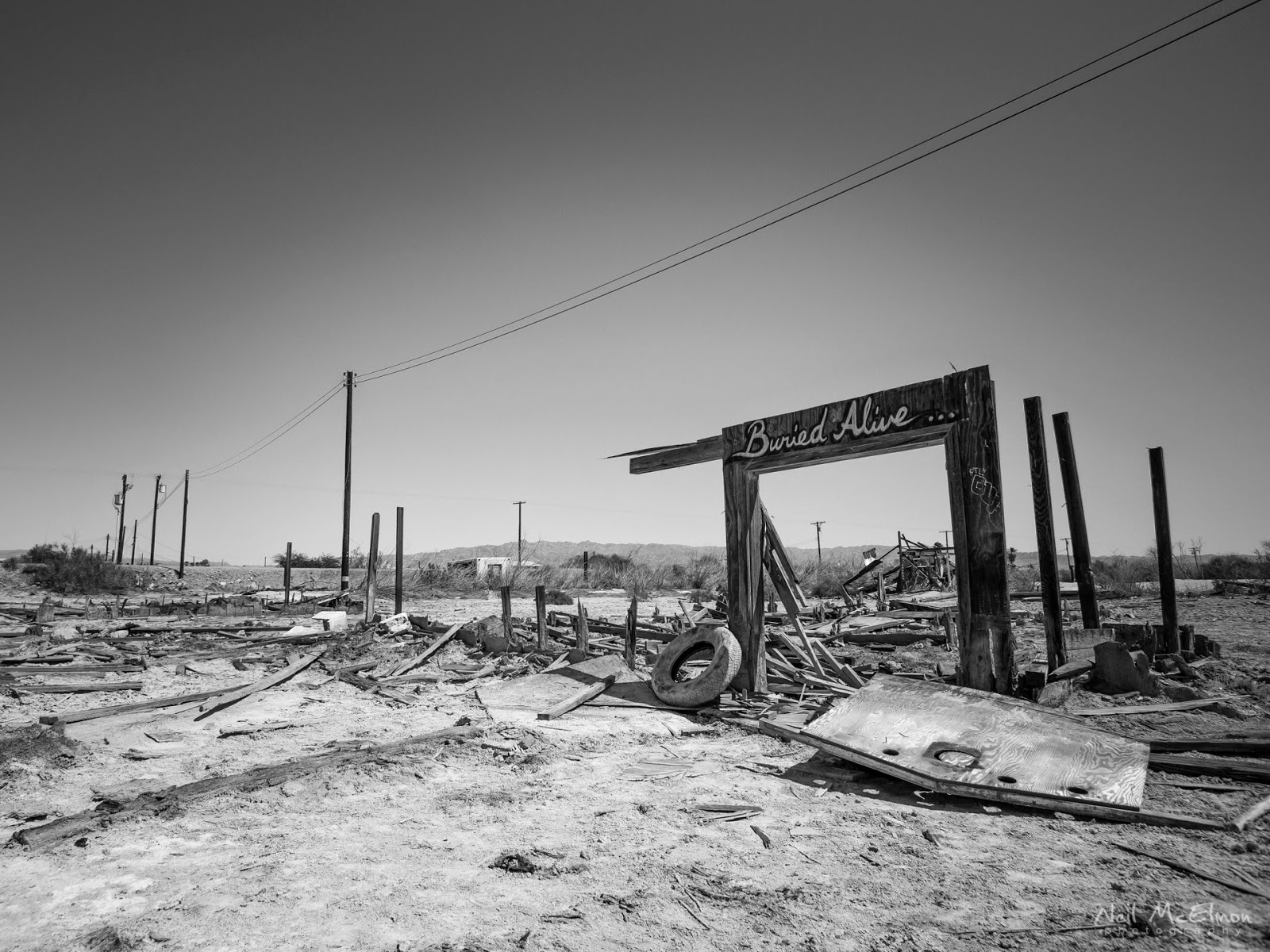 Bombay Beach, Salton Sea, California