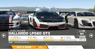 Real Racing 3 v7.0.5 Apk Mod Data Unlimited Gold