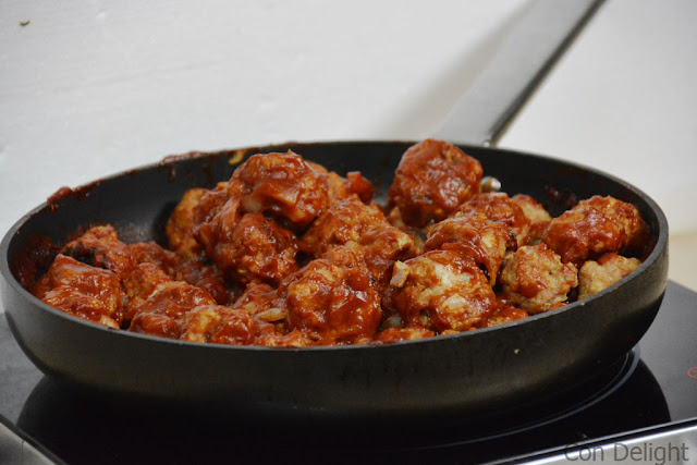 chicken meatballs with turkey