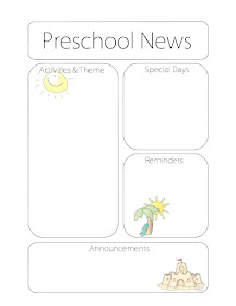 The Crafty Teacher: Newsletter Templates