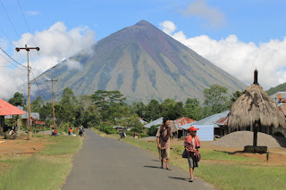 Jalur Pendakian Gunung Inerie