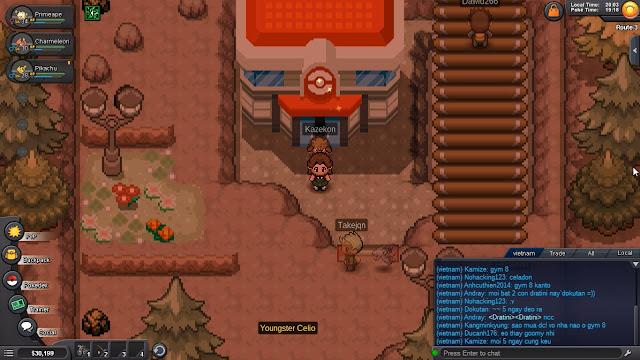 Hướng Dẫn Pokemon Revolution Online Part 2 - Gym Misty