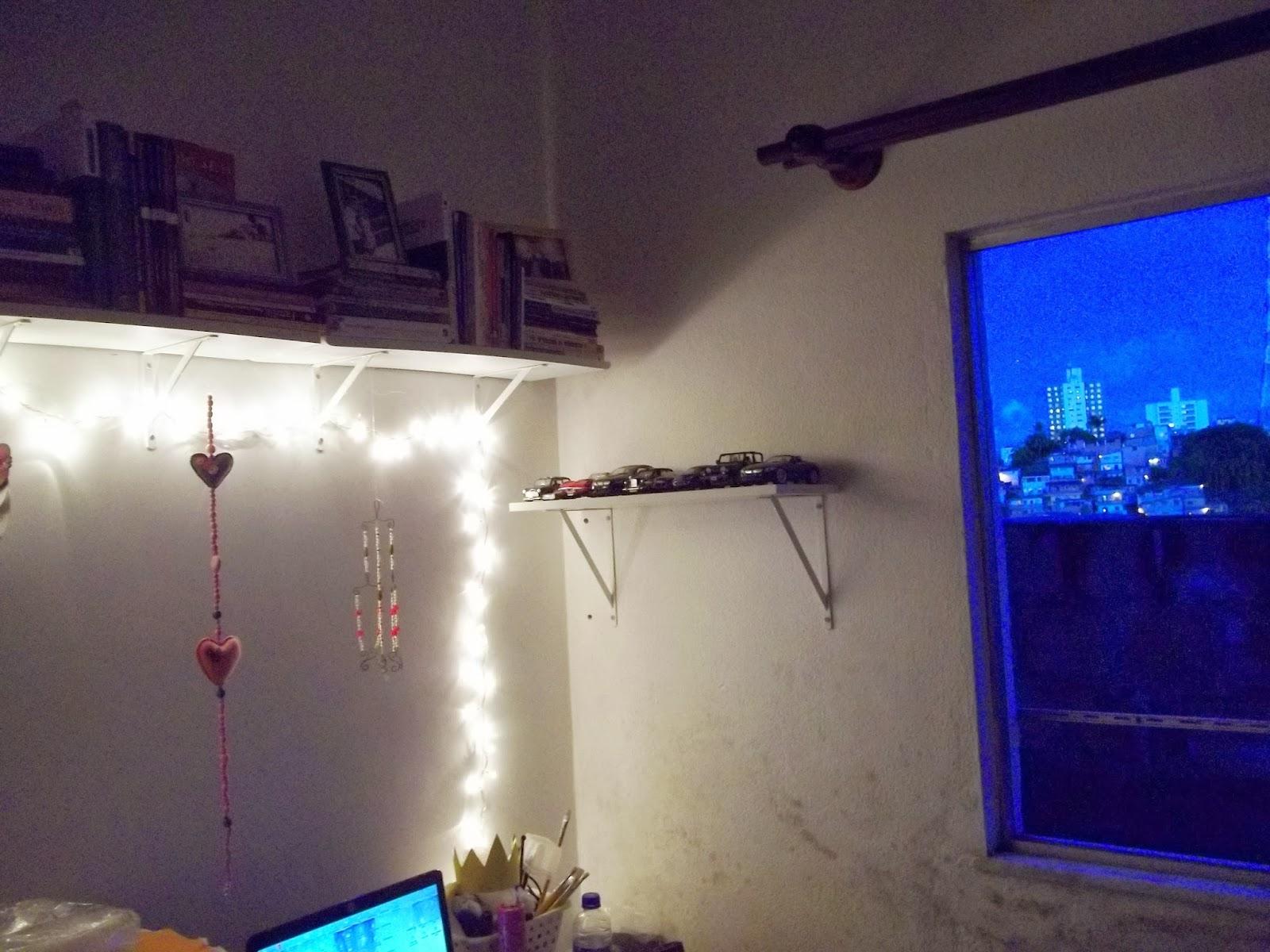 decoração com iluminação indireta