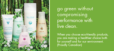 Gently Wash Your Hair with Live Clean