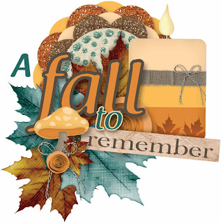 A Fall to Remember Word Art #10 - free scrapbook element