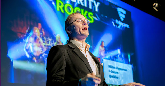 Mikko Hyppönen durante el Security Innovation Day 2017