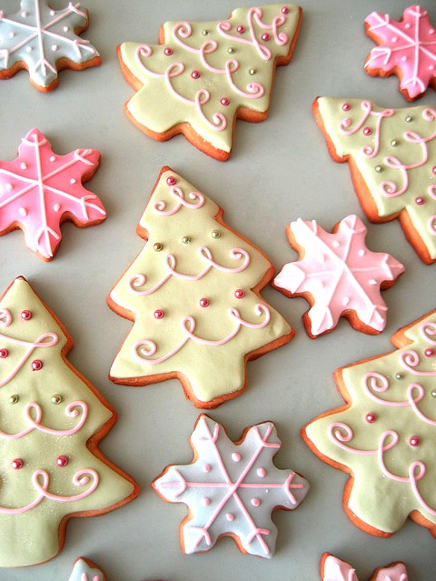 Alberelli Di Natale Biscotti.Biscotti Per Albero Di Natale Ricetta