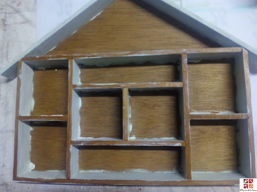 casita con compartimentos
