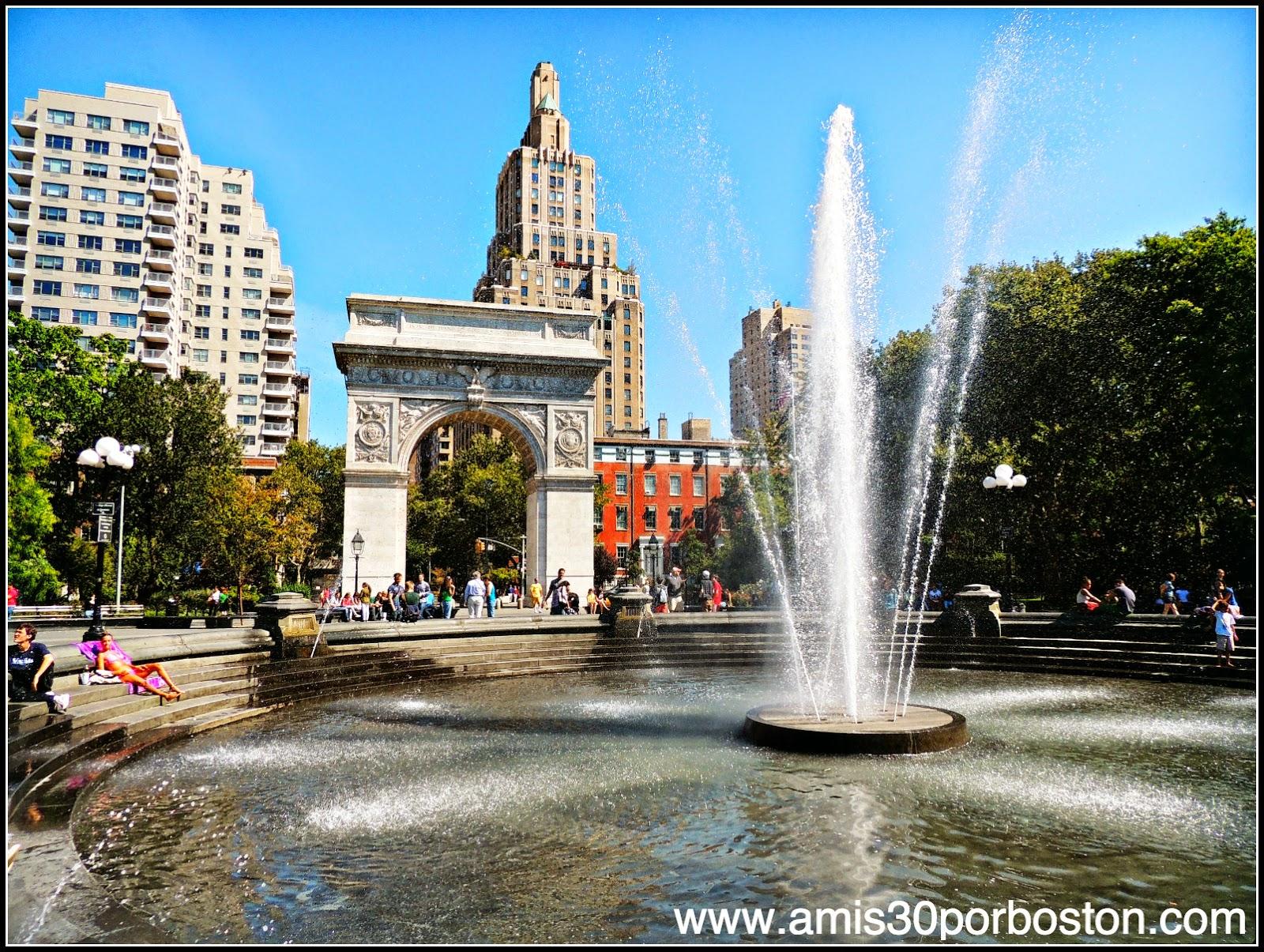 Segunda Visita a Nueva York: Washington Square
