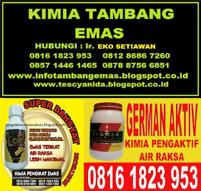 KIMIA TAMBANG EMAS