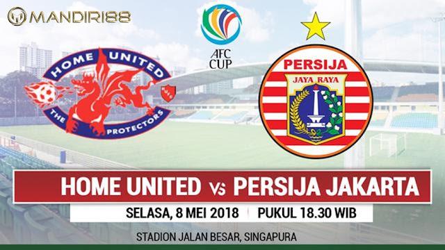 Prediksi Home United Vs Persija Jakarta, Selasa 08 Mei 2018 Pukul 18.30 WIB