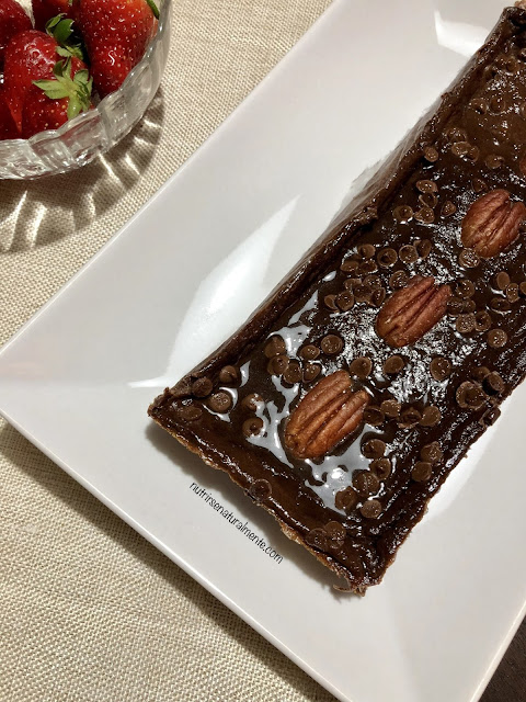 Brownie vegano saludable