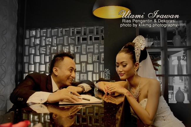 Kumpulan Beberapa Foto Pengantin Mei - Juni 2015 Bersama Utami Irawan Rias Pengantin & Dekorasi | Foto oleh Klikmg.com Fotografi - Fotografer Pengantin Purwokerto