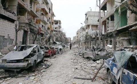 Korban Ghouta Sudah 1000 Yang Tewas, Dunia Masih Tak Bergeming