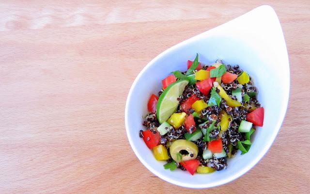 1-minute quinoa pressure cooker recipe