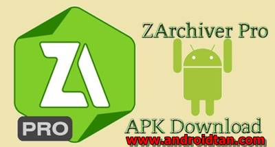 Download ZArchiver Pro Apk v.0.8.3 Free Terbaru 2017