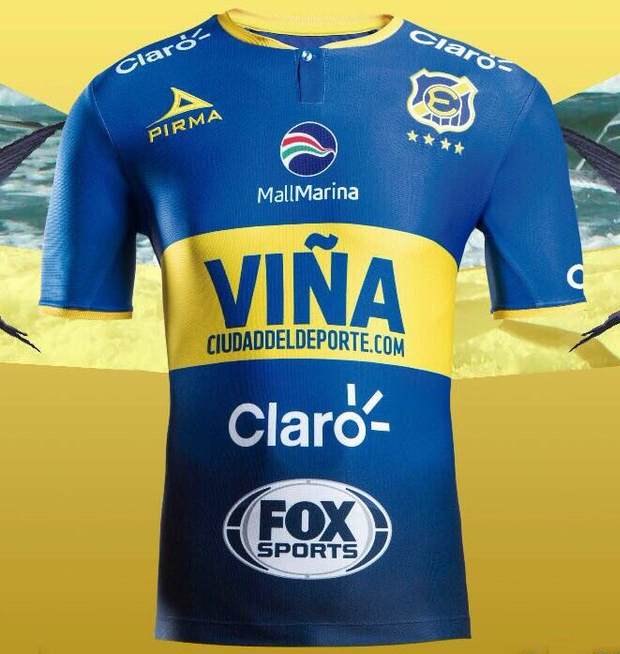 b09afd2236cb9 Pirma lança as novas camisas do Everton do Chile - Show de Camisas