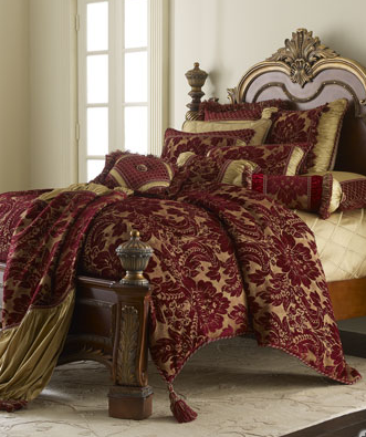 Silk Charmeuse Bedding Set