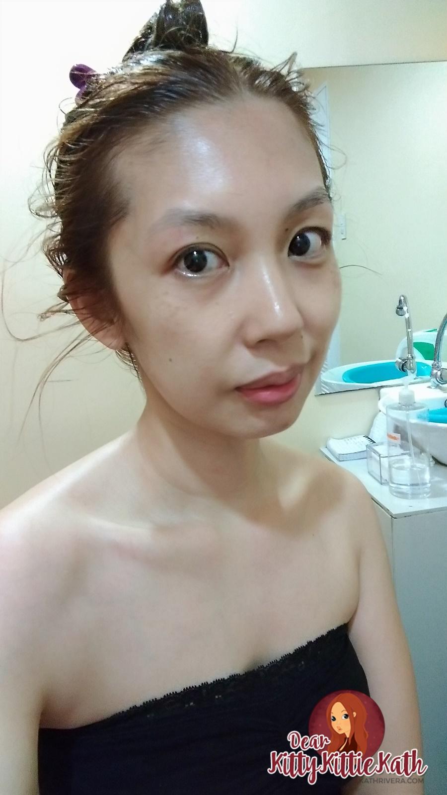 Guinot Hydradermie Facial Treatment at David's Salon Pardon the no makeup and just woke up shot