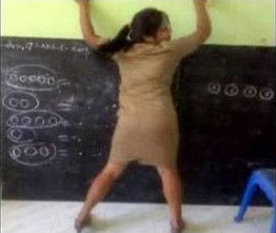 Ibu Guru SD Bergoyang Hot