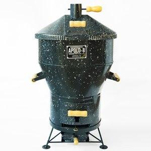 Churrasqueira a Gás ou Carvão 08 Esmaltada - Apolo Preto