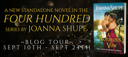 New Release Spotlight: A Notorious Vow by Joanna Shupe
