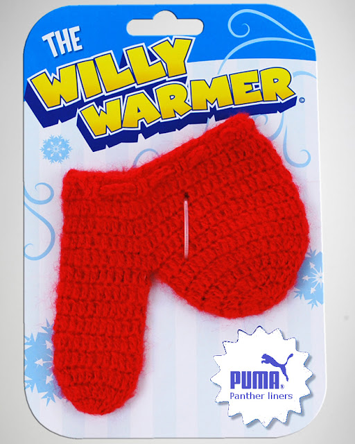 Willy warmer - Puma panther liner range funny picture