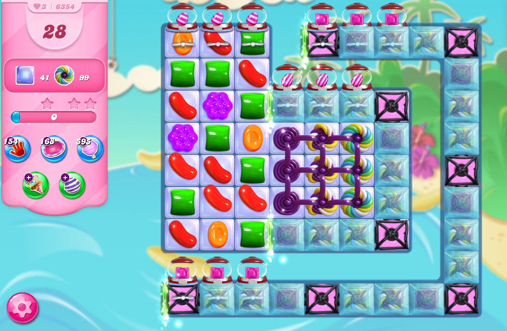 Candy Crush Saga level 6354
