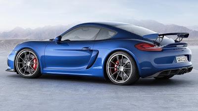 Porsche Cayman GT4 più aggressiva