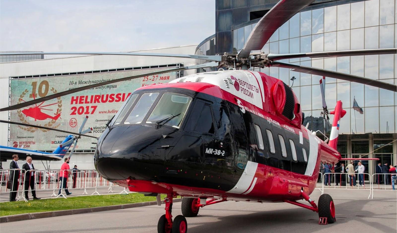 Selama sebulan Rusia menerima pesanan 70 helikopter dari negara-negara APR