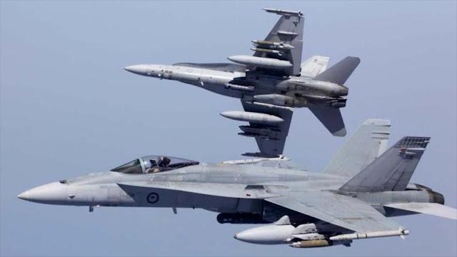 EEUU amenaza con derribar los aviones sirios y rusos