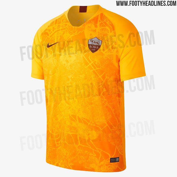 880cb993f96 Nike AS Roma 18-19 Third Kit Released - Footy Headlines