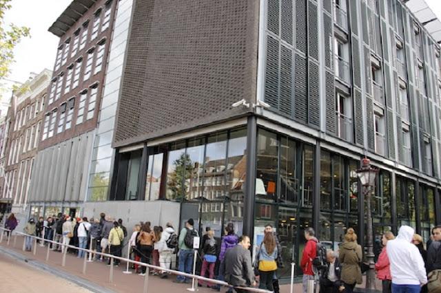 Visita a Casa da Anne Frank em Amsterdã